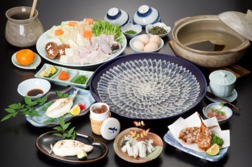 Những món ngon từ cá nóc hổ Torafugu.