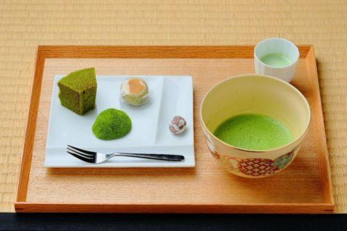 Món ngọt chế biến từ Nishio Matcha.